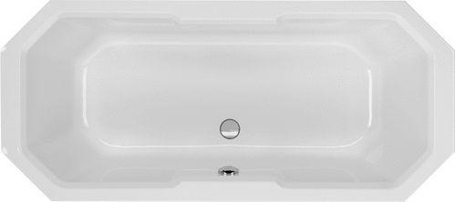 Schröder Wannentechnik Chile Achteckbadewanne Material Acryl 175x80x41 cm