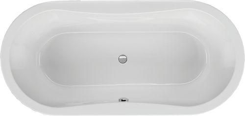 Schröder Wannentechnik Gomera Ovalbadewanne Material Acryl 170x75x48,5 cm