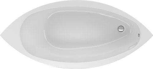 Schröder Wannentechnik Como Ovalbadewanne Material Acryl 187,5x87x47,5 cm