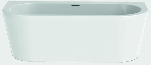 Schröder Wannentechnik Charly + Schürze Vorwandbadewanne Material Acryl 180x80x61 cm