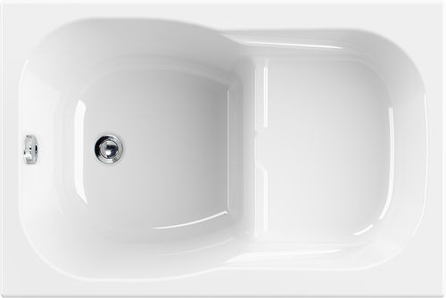 Schröder Wannentechnik Dobra Sitzbadewanne Material Acryl 105x70x42 cm