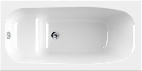 Schröder Wannentechnik Dobra Sitzbadewanne Material Acryl 140x70x45 cm