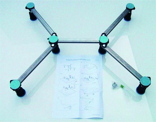 Schröder Wannentechnik Universal Duschwannenfuß Verstellbereich Höhe 87-115mm
