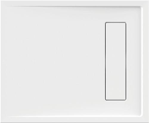 Schröder Wannentechnik Rinnenabdeckung-weiß Acryl zur Lyon 100