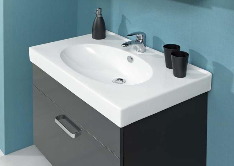 Pelipal mainz spiegelschrank waschbeckenunterschrank for Spiegelschrank anthrazit