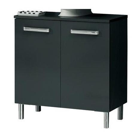 pelipal mainz waschbeckenunterschrank mit ausschnitt anthrazit 60. Black Bedroom Furniture Sets. Home Design Ideas