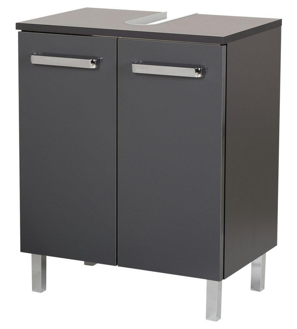 pelipal mainz waschbeckenunterschrank mit ausschnitt anthrazit 50. Black Bedroom Furniture Sets. Home Design Ideas
