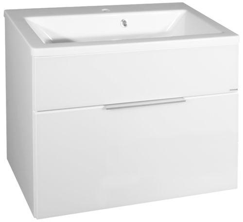 Fackelmann Kara Waschtisch-Unterbau Breite 80 cm in der Farbe Weiß