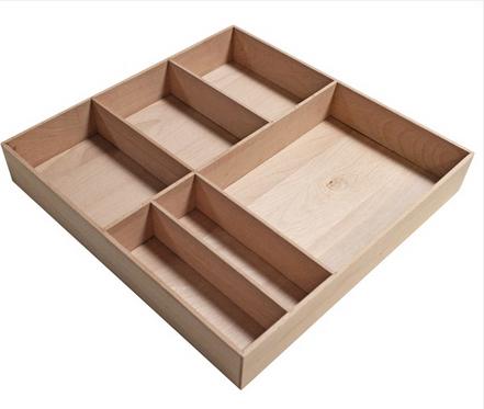 Fackelmann Stanford Organisations-Box Breite 38cm Farbe Buchenholz