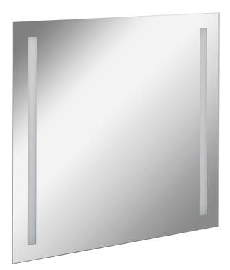 Fackelmann Spiegel Linear 80 cm LED-Beleuchtung inklusive Befestigung