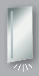 Fackelmann Spiegel Linear 40 cm LED-Beleuchtung und Ambientebeleuchtung