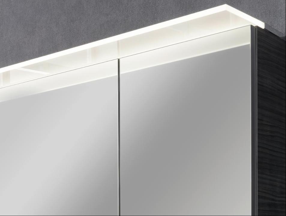 Fackelmann B.perfekt LED Spiegelschrank 6,2 Watt 80 cm Weiß