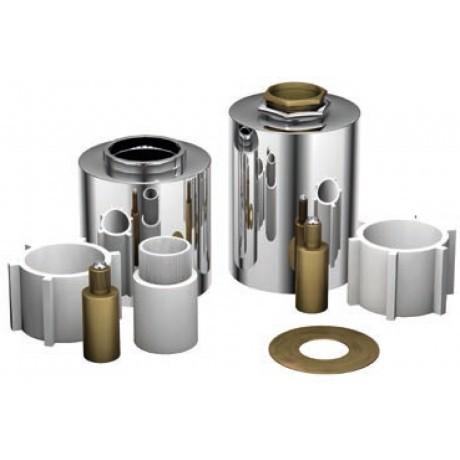 Treos Serie 003.07.4126 Verlängerungsset 50mm für Unterputz Einbaukörper