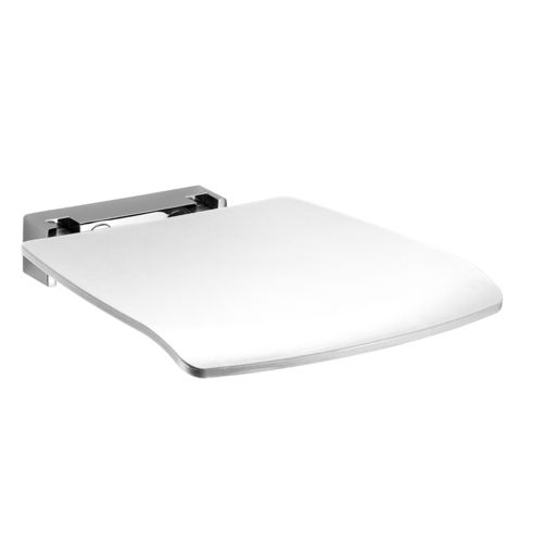 Duschklappsitz Avenarius free living Farbe Weiß belastbar bis: 150 kg
